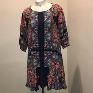 Umgee floral dress lite and flowy Sz small